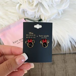 Disney x Kate Spade Minnie Mouse Earrings